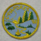 Vintage1968 Boy Scout Camporee Patch BSA