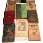 1930s Lot 8 vintage BOY SCOUT SCOUTING Books plus CUB GIRL WOLF - L@@K!
