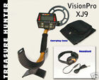 PATENTED TREASURE HUNTER XJ9 METAL DETECTOR FREE PRO PA