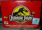 Topps JURASSIC PARK SERIES 2 Trading Cards Sealed Box: (36 Packs 1992)