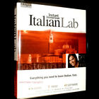 NEW Learn to Speak INSTANT Immersion  ITALIAN Language Complete LAB cd's book