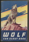 Wolf Cub Scout Book ~ 1954 ~ Boy Scouts of America ~ BSA ~ paperback