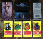 Star Wars: ROTJ 3D Widevision: BASE SET w Box and ALL -4- PATCH RELICS (2014)