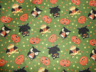Halloween Fabric  Simply Spooky Red Rooster Fabric