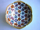 VTG RS Germany Prussia Porcelain Floral Bowl Hand Painted Flowers Beautiful