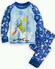 NWT DISNEY STORE ☆FROZEN☆ OLAF PJ 2 PIECE PAJAMA SET FOR BOY'S SIZE 7 #CHRISTMAS