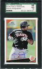 2011 TOPPS LINEAGE PABLO SANDOVAL AUTO CARD #426 GIANTS SGC 10
