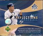 (1) 2005 Upper Deck Reflections Baseball Factory Sealed Hobby Box Autographs