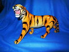 Rare Vintage Porcelain Tiger-Made in Italy-HUGE-10 inches tall-15 inches long