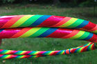 HULA HOOP~ UV Rainbow~ Pre-made  ready to ship ~PERFECT FOR BEGINNERS~