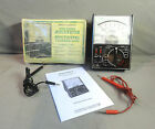 Vintage MICRONTA RADIO SCHACK Range Doubler Multitester 22-204B BOX MANUAL PROBE