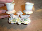 Vintage Porcelain double CANDLESTICK Holder or Candelabra Made in Japan #44/792T