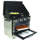 Camping Stove Outdoor Oven 2 Burner Propane Camp Tent Cooking Tailgating Camper