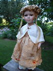 Porcelain Head Doll - NJSF on neck - Lace, Beads, Bone Buttons, Brocade 18