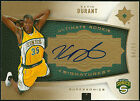 2007-08 Kevin Durant Upper Deck Ultimate Gold RC Rookie on Card Auto 50