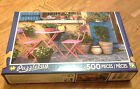 LOT OF 500 PIECES PUZZLEBUG TERRACE OF HOUSE FRANCE PUZZLES JIGSAW PUZZLE.