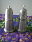 Woodbury Pewter Silver color Salt and Pepper Shaker Set MADE IN USA