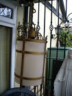 ANTIQUE ART DECO PORCH / HALL / LANDING LANTERN