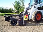 Skid Steer Soil Conditioner Harley Rake 84 Power Angle