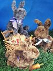 Poly-Fil Poly-Patterns PRISCILLA & BABY BUNNY #D-204 Easter Rabbit Pattern