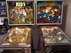 KISS and EIGHT BALL PINBALL MACHINES BALLY PAUL STANLEY GENE SIMMONS FONZY RARE