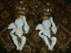 Pair of Vintage Bisque Cherubs by Ardalt Japan Lenwille China