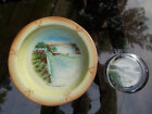 Vintage Niagra Falls Paperweight and Bowl Made in Czechoslovakia