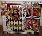 Ever After High Lizzie Hearts Spring Unsprung Book Playset NEW In Hand