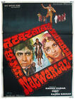*RARE* Mr. Natwarlal 1979 AMITABH* old vintage Bollywood Indian movie poster ORG