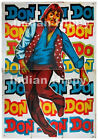 Original old vintage Bollywood movie poster from India: Don 1978 Amitabh 2 SHEET
