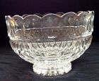Waterford Footed Cut Crystal Bowl From Ireland