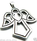 James Avery LARGE Retired Openwork Angel Pendant in Orig. Box  GORGEOUS!
