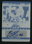 BARRY SANDERS LEAF ARMY 2012 AUTO STANFORD CARDINAL SIGNED PRINTING PLATE 1 1