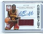 2013-14 PANINI NEW BREED #2 149 ANTHONY BENNETT Autograph Auto Jersey Rookie RC