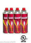 GASONE 12 Cans Portable Butane Gas Fuel Cartridges For Picnic Cooking Camping