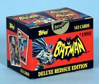 Batman 1966 Topps Deluxe Reissue Trading Cards sets 1,2,3