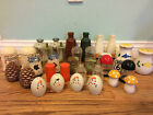 HUGE Collection of Vintage Salt and Pepper Shakers!