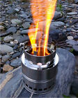 Wood Gas Stove Wood Burning Stove Solo Camping Stove Outdoor Portable Camp New