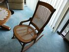 ANTIQUE WOOD CHILD ROCKING CHAIR ~ ROCKER VICTORIAN CANE