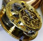 MUSEUM antique fancy enamel case Verge Fusee Romilly watch for Chinese market