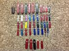 Victorinox Wenger Swiss Army Knife Lot 44 Tools Total