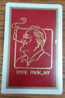 Hyde Park, NY Vintage Sealed Souvenir Deck of Deluxe Playing Cards Roosevelt