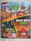 ANGRY BIRDS TRILOGY, GO, STARWARS, COMPLETE ALBUM 100 STICKERS PERUVIAN EDITION.
