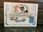 National Treasures Champions Autograph Jersey Oilers Earl Campbell 04 25 2008