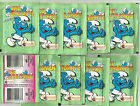 1996 MERLIN The Smurfs 10 Sealed Packets I PUFFI