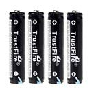 4Pcs TrustFire 10440 600mAh 3.7V Rechargeable Lithium Battery Batteries US
