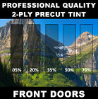 Jeep Wrangler 1987-1995 Hardtop Precut Front 2 Doors Window Tint Kit