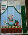 Patty Reed Designs- heavy cotton - Christmas APRON PANEL  / fabric / pattern-NEW