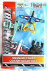MATCHBOX SKY BUSTERS MISSION PACK 4 AIR CRAFTS - BATMAN THE BAT NEW AND RARE