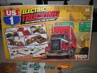 Tyco US1 Electric Trucking Set HO Scale Slot Car Trucks Track With Box